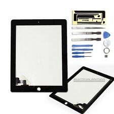 For Apple iPad 2 Touch Screen Digitizer Front Glass Display Black Replacement UK