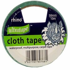 Ultratape RHINO Gaffer Duct Waterproof Multi Purpose GREEN Cloth Tape 50mm/10m