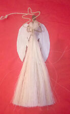 Handmade Sisal Angel (3inch) Christmas Tree Decoration
