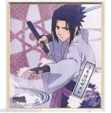 Naruto Shippuden Shikishi Art Visual Collection - Sasuke