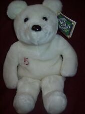 Salvino's BIG BAMMER'S #5 Red Sox NOMAR GARCIAPARRA White Teddy Bear New NWT