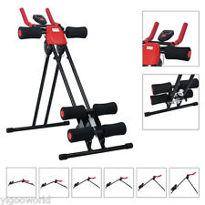 Finether AB Cruncher Abdominal Trainer Glider Machine 5 Minute Shaper 6 Levels