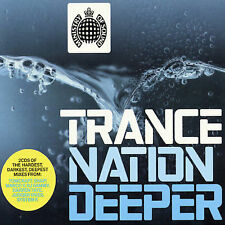 Trance Nation Deeper by Various Artists (CD, May-2003, 2 Discs, Ministry Of)