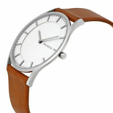 Skagen Men's SKW6219 'Holst Slim' Brown Leather Watch