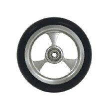 """Pair of casters  5 x 1-1/2"""" Frog Legs 5/16"""" Bearing, 1"""" Hub for powerchair"""