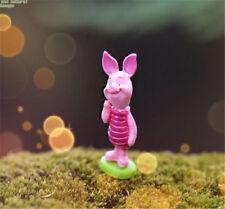 FD3554 Miniature Dollhouse Garden Craft Fairy Bonsai DIY Decor Pink Piglet 1pc☆