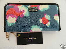 PAULS BOUTIQUE LARGE LIZZIE ZIP AROUND PURSE WALLET BNWT