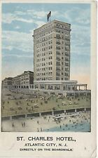 (5517) old postcard ATLANTIC City New York St. Charles Hotel