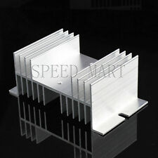 Alloy Aluminum Heat Sink Cooling Socket For Solid State Relay Timer 40A-100A SSR
