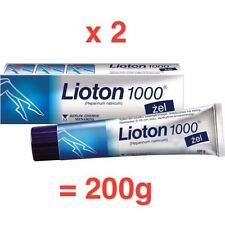LIOTON 1000 GEL 2 x 100 = 200g Varicose Vein Bruises Scar