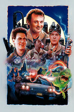 GHOSTBUSTERS WHO YA GONNA CALL GICLEE PRINT BY NICK RUNGE MOVIE POSTER