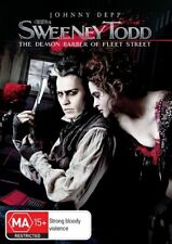 Sweeney Todd - The Demon Barber Of Fleet Street NEW R4 DVD