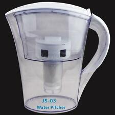 Water Filter Pitcher 5 Stage Chlorine Fluoride Purification 3.5L 14 Cup Capacity