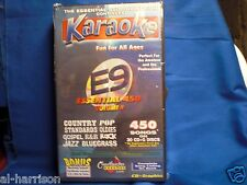 Chartbuster  Karaoke Essential 450 - E9 CD+G 30 DISC 450 SONGS SET