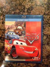 Cars (Blu-ray/DVD, 2011, 2-Disc Set) Authentic US release Scratch Free