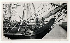 ORIGINAL 1950s PHOTOGRAPH HMS Bounty SHIP Boat ROYAL NAVY Mutiny WILLIAM BLIGH