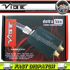 Vibe Matrix Delta Box Car Speaker Wire To Low Level RCA Output Line Convertor