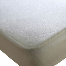 King Terry Towel Waterproof Mattress Protector Fitted Sheet Bed Cover