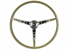 1965 1966 Ford Mustang Reproduction Ivy Gold Steering Wheel with Horn Ring