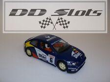 Dd ranuras Scalextric Renault Megane Diac No. 6 c2007-Usado