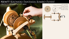 Jumbo Flyer KIT Kromski Fantasia Wheels Unfinished FREE Shipping Bonus Wool