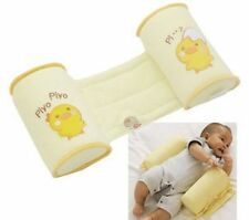 NEW Born Baby Toddler Safe Cotton Anti Roll Pillow Sleep Head Positioner UK