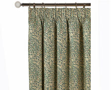 William Morris Willow Bough Pair Lined Curtains 190cm x 183cm Pencil Pleat