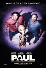 Paul movie poster (b) Seth Rogan, Simon Pegg, Nick Frost - 11 x 17 inches