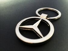 New Fashion Mercedes Benz logo Metal Car keychain keyring Holder Accessories