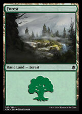 MTG magic cards 1x x1 NM-Mint, Japanese Forest (267) - Foil Khans of Tarkir