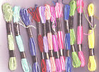 12 x Skeins Variegated Embroidery / Cross Stitch Threads FREE POSTAGE!! (UK)