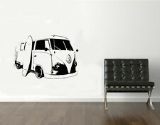 VINILO DECORATIVO PARA PARED CALIDAD EXTRA -VW SURF VAN-95x60cm.