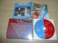 @ CD THIRD VOICE - REFLECTIONS RARE US MELODIC ROCK/ PROG INDIE 1998