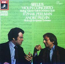 CD SIBELIUS - violin concerto / SINDING - suite for violin, Perlman / Previn
