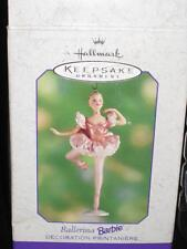 2000 Ballerina Barbie Keepsake Ornament Hallmark NRFB