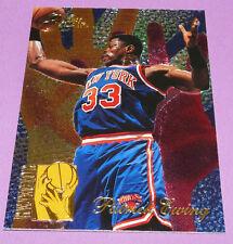 PATRICK EWING NEW-YORK KNICKS REJECTOR FLEER 1995 NBA BASKETBALL CARD