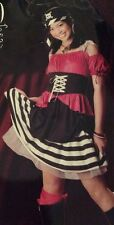 Halloween Adorable Wicked Innocence Sweet Pirate Costume Junior 0-9 NEW
