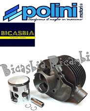 1165 - CYLINDRE MOTEUR COMPLET POLINI DM 68 VESPA PX 200 RALLYE COSA