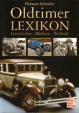 Book - Oldtimer Lexikon - A-Z Cars Motoring Encyclopedia German - 930 photos