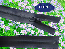75 cm(29.5'')  Inches Waterproof Navy Blue nylon zip. Open ended.Free Postage