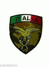 Patch Alpini Esercito Italiano Mimetica Vegetata Militare Bandiera Scudetto