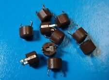 MuRata TZ03P600FR169 Trimmer Cap 6mm 9.8-60pF 100V Top Adjust, 10pcs