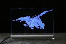 LEUCHTSCHILD  Drache 2 - LED - DEKO DRAGON Display