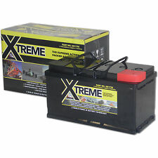 Xtreme Deep Cycle 110ah AGM Leisure Low Case Battery Caravan,Camper,Marine