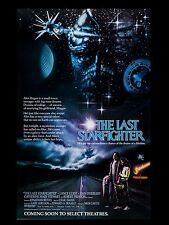 "The Last Starfighter 16"" x 12"" Reproduction Movie Poster Photograph"