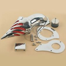 Chrome Air Cleaner Intake Filter Kits For Honda Shadow VLX600 VLX 600 1999-2012