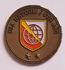 US Army NETCOM Network Enterprise Technology Command 9th ASC Army Signal Command