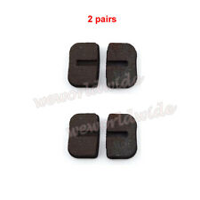 2 pairs Disc Brake Pads For 47cc 49cc Gas Mini Dirt Pocket Bike Scooter 2 Stroke