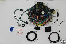12 Circuit Wiring Harness CHEVY Mopar FORD Hot rods UNIVERSAL  Wires!!