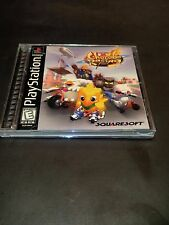 Chocobo Racing (Sony PlayStation 1, 1999) COMPLETE